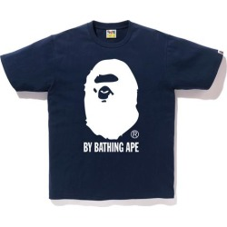 BAPE Bicolor By Bathing Tee Navy/White