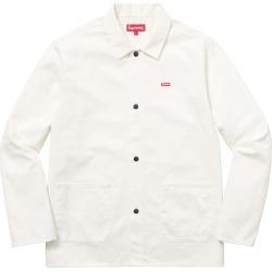 Supreme Shop Jacket White