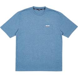 Palace Basically a Pocket T-Shirt Blue Marl