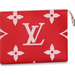 Louis Vuitton Toiletry Pouch Monogram Giant Red/Pink found on MODAPINS from StockX Holdings LLC for USD $873.00