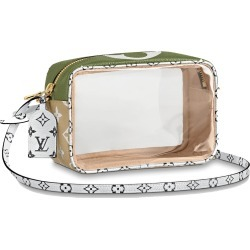 Louis Vuitton Beach Pouch Monogram Giant Khaki Green/Beige found on MODAPINS from StockX Holdings LLC for USD $1230.00