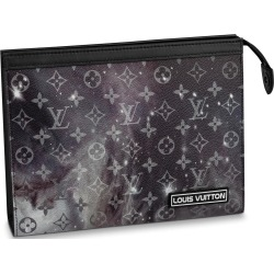 Louis Vuitton Pochette Voyage Monogram Galaxy MM Black Multicolor found on Bargain Bro India from StockX Holdings LLC for $1590.00