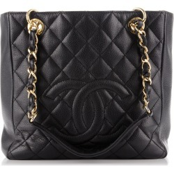 Chanel Shopping Tote Quilted Petite Black found on Bargain Bro India from StockX Holdings LLC for $2500.00