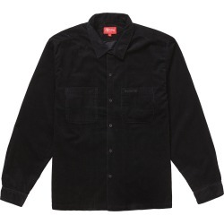Supreme Corduroy Shirt (FW19) Black found on Bargain Bro Philippines from StockX Holdings LLC for $210.00