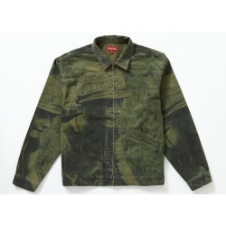 Supreme Is Love Denim Work Jacket Olive