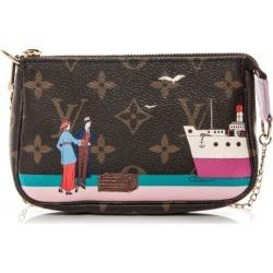 Louis Vuitton Pochette Accessoires Illustre Transatlantic Mini Rose Ballerine found on Bargain Bro Philippines from StockX Holdings LLC for $450.00