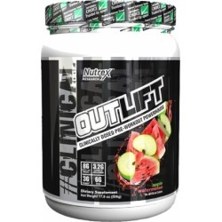 Outlift Apple Watermelon 20 Servings - Pre-Workout Supplements Nutrex