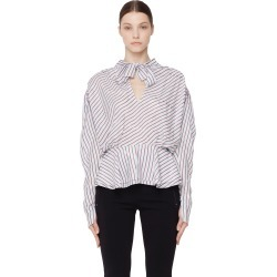 Balenciaga Striped bow neck blouse found on Bargain Bro Philippines from SV Moscow for $1375.00