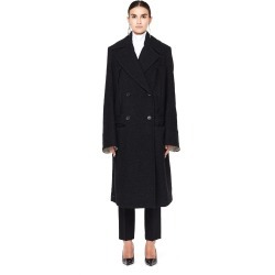 Ann Demeulemeester Oversized Double Breasted Wool-Mix Coat found on MODAPINS from SV Moscow for USD $2275.00