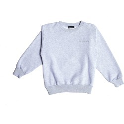 Balenciaga Kids Grey Logo Embroidered Sweatshirt found on Bargain Bro Philippines from SV Moscow for $245.00