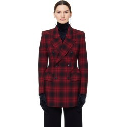Balenciaga Hourglass Wool Checked Jacket found on Bargain Bro Philippines from SV Moscow for $2720.00