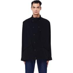 Yohji Yamamoto Black Double Breasted Jacket