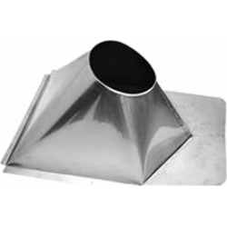 "7"" Champion 304L SS 0/12 to 6/12 Metal Roof Flashing"