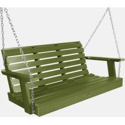 4' Weatherly Porch Swing Dried Sage - highwood, Dried Green