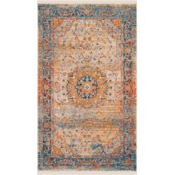 Vintage Persian Rug - Blue/Multi - (6'X9') - Safavieh, Size: 6'X9' found on Bargain Bro Philippines from target for $293.99