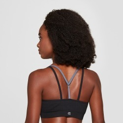 Women's Seamless Strappy Cami Sports Bra - C9 Champion Black XL found on Bargain Bro India from target for $19.99