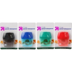 Pencil Sharpener 2 Hole 1ct Colors Vary - Up&Up found on Bargain Bro from target for $0.49
