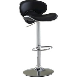 Grace Adjustable Low Back Barstool Black - miBasics, Galaxy Black found on Bargain Bro Philippines from target for $147.24
