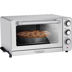 Cuisinart Convection Toaster Oven/ Broiler TOB-60N, Silver
