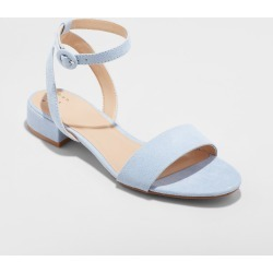 Women's Winona Wide Width Ankle Strap Sandal - A New Day Blue 5W, Size: 5 Wide found on Bargain Bro India from target for $19.99