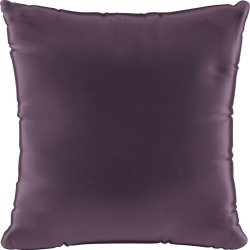 Velvet Square Throw Pillow Plum - Skyline Furniture, Purple