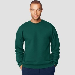 Hanes Men's Ultimate Cotton Sweatshirt - Forest XL, Green found on Bargain Bro Philippines from target for $9.59