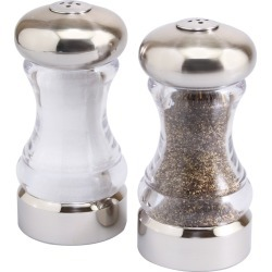 Olde Thompson Monterey Shaker Set Brushed Nickel, Clear Silver found on Bargain Bro Philippines from target for $11.99