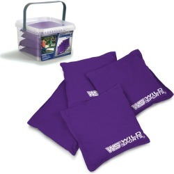 Wild Sports Authentic Cornhole 16oz Bean Bag Set 4pk - Purple found on Bargain Bro Philippines from target for $23.49