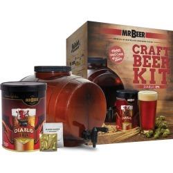 Mr. Beer Diablo IPA Craft Beer Making Kit, Brown
