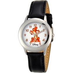 Boys' Disney Tiger Stainless Steel Watch - Black, Boy's found on Bargain Bro India from target for $30.39