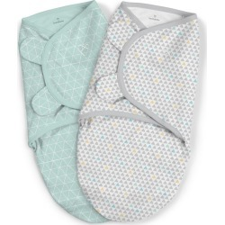 SwaddleMe Original Swaddle 3-6M - 2pk Peaks & Points L, Blue Gray found on Bargain Bro India from target for $22.49