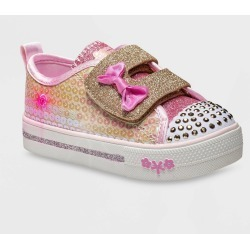 Toddler Girls' S Sport by Skechers Madelyne Sneakers - Gold 8, Girl's found on Bargain Bro Philippines from target for $29.99