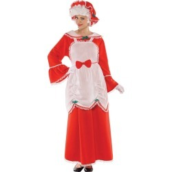 Halloween Mrs. Clause Adult Costume Plus (18-20) - Amscan, Women's, Size: XL, MultiColored found on Bargain Bro Philippines from target for $60.00