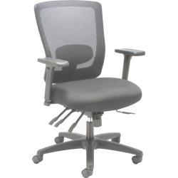 Alera Alera Envy Series Mesh Mid-Back Multifunction Chair, Black