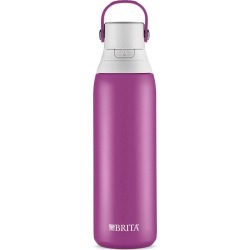 Brita Premium Filtered Water Bottle Stainless - Lilac, Purple