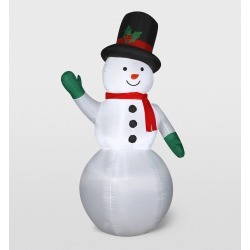 Gemmy Snowman Inflatable Holiday Decoration
