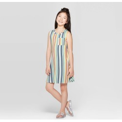 Girls' Pocket Tank Dress - art class XL, Multi-Colored found on Bargain Bro India from target for $16.99