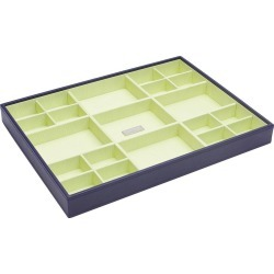 Wolf Large Multi-Compartment Jewelry Tray - Purple