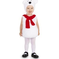 Polar Bear Baby Costume 12-18 Months, Infant Unisex, Size: 12-18 M, White