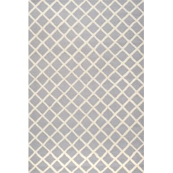 Silver/Ivory Lola Rug - ( 6'X9') - Safavieh, Size: 6'X9' found on Bargain Bro Philippines from target for $258.99