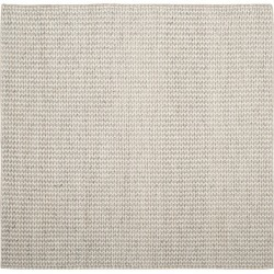 6'X6' Solid Woven Square Area Rug Ivory/Silver - Safavieh found on Bargain Bro Philippines from target for $322.49