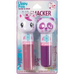 Lip Smacker Lippy Pals Panda Lip Gloss And Balm - 0.43oz