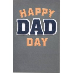Dad Day Father's Day Card with Foil, Multi-Colored
