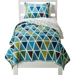 Charlie Quilt Set - Full/Queen, Blue found on Bargain Bro Philippines from target for $89.99