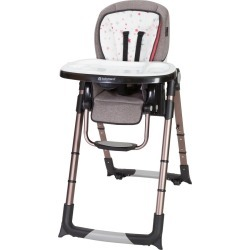 Baby Trend Go Lite Snap Gear 5-in-1 Feeding Center High Chair - Stardust Rose, Stardust Pink