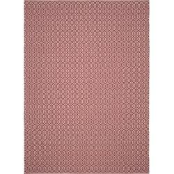 Ivory/Red Geometric Flatweave Woven Area Rug 8'X10' - Safavieh