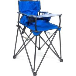 Creative Outdoor Distributor Baby High Folding Chair - Blue