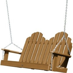 4' Classic Westport Porch Swing Toffee - highwood