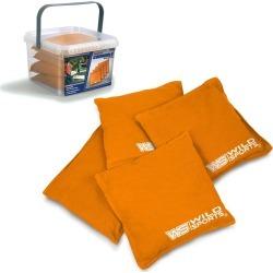 Wild Sports Authentic Cornhole 16oz Bean Bag Set 4pk - Orange found on Bargain Bro Philippines from target for $21.49