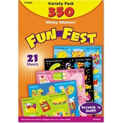 TREND Stinky Stickers Variety Pack, Good Times, 535/Pack, Size: 535 Count